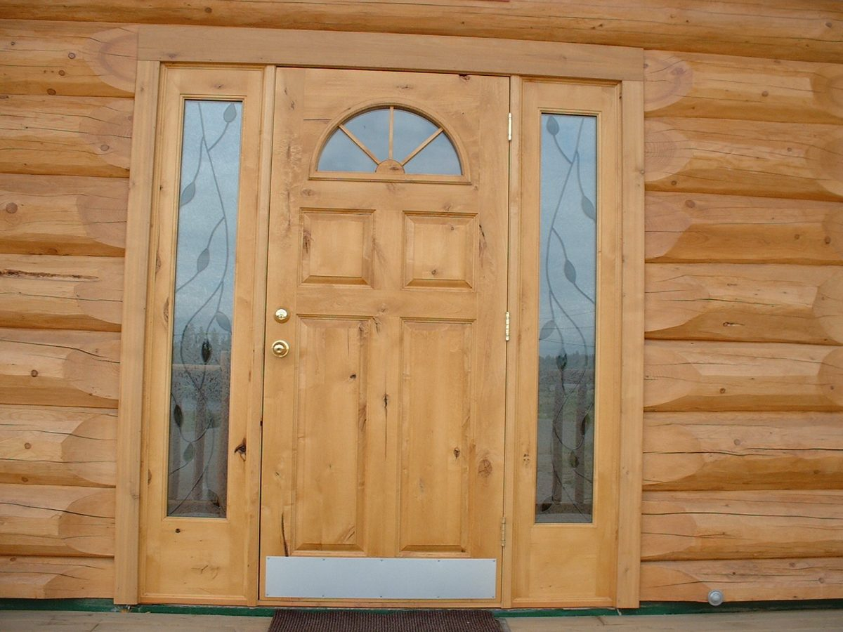 Awe Inspiring Doors Windows Canadas Log People Home Interior And Landscaping Ologienasavecom
