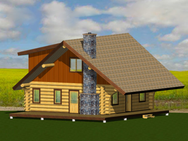 The Manitoban. Handcrafted Canadian Log Home Plans    Canada s Log People